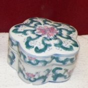 White Porcelain Trinket Box