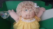 1983 Blonde Cabbage Patch Kids Doll