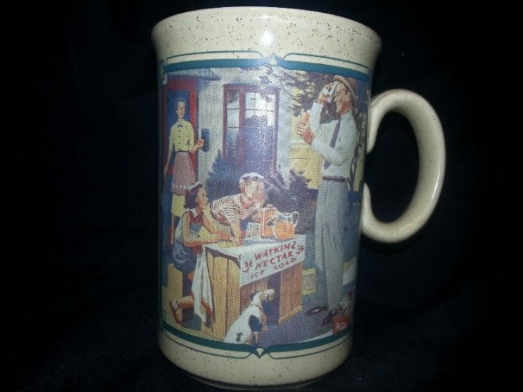 1955 Watkins Calendar Mug - Click Image to Close