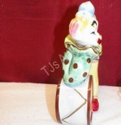 Clown Leaning On Drum Decanter