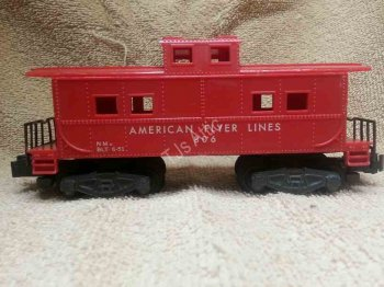 American Flyer 806 Caboose