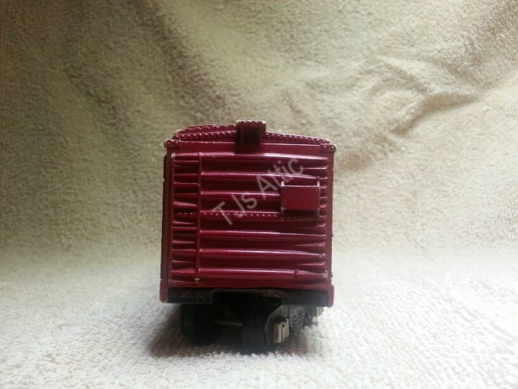 American Flyer 642 Red Box Car - Click Image to Close