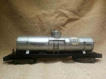 American Flyer 24310 Gulf Single Dome Tank Car