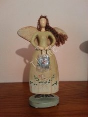 Russ Berrie Country Gatherings Porcelain Angel