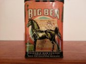 Big Ben Smoking Tobacco Vertical Pocket Tin