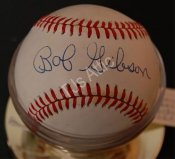 Bob Gibson Autographed National League Baseball