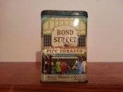 Bond Street Pipe Tobacco Tin
