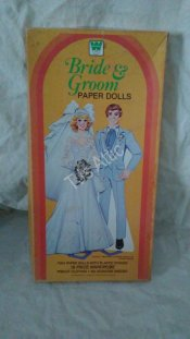 1982 Bride & Groom Paper Dolls