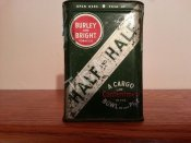 Burley and Bright Half and Half Vertical Pocket Tin