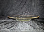 Set of Six Glass Serving Bowls with Underplate