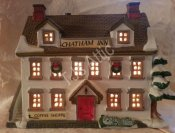 Lemax Dickensvale Porcelain Lighted House Chatham Inn