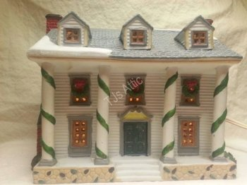 Lemax Dickensvale Porcelain Lighted House 1995