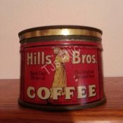 Hills Bros 1/2 Pound Coffee Can