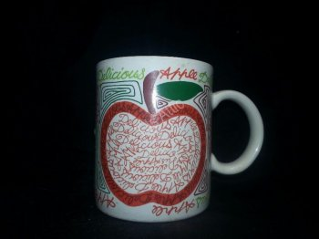 Delicious Apple Mug - Made in Japan