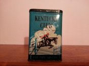 Kentucky Club Pipe and Cigarette Tobacco Tin