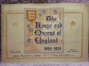 The Kings and Queens of England 1066-1935 Cigarette Card Album