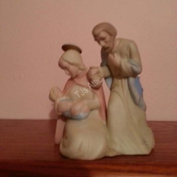 Lefton Holy Family Christopher Collection Figurine