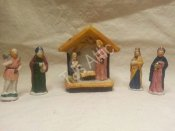 Lemax Dickensvale Porcelain Nativity Set