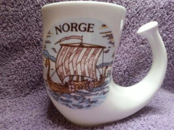 Set of Two Mugs from Norway