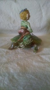 Pixie on Turtle by Royal Crest China