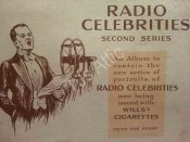 1934 Album of 50 Radio Celebrities Second Series Cards