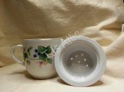 Sadek Tea Cup With Strainer and Lid
