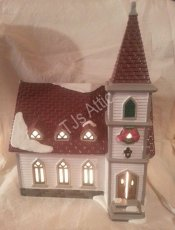 Department 56 Snow Village Shady Oaks Church