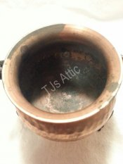 Hammered Copper Cauldron