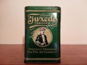 Tuxedo Green Vertical Pocket Tobacco Tin