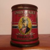 Union Leader Redi Cut Tobacco Tin
