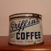 Griffins Coffee Tin