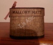 Mallory Hats Miniature Hat Box