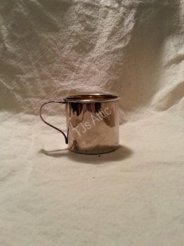 Vintage Silver Baby Cup by Rogers